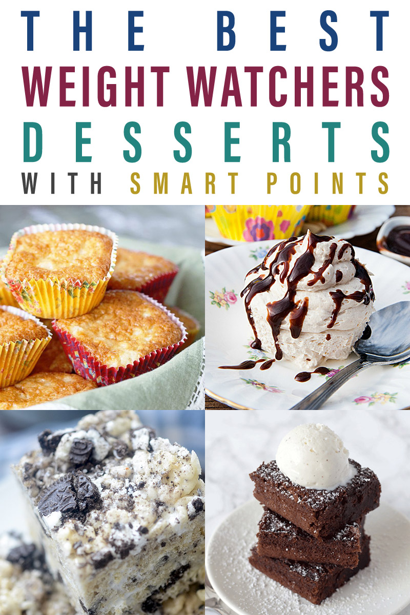 These dessert recipes are Weight Watchers approved and so yummy.