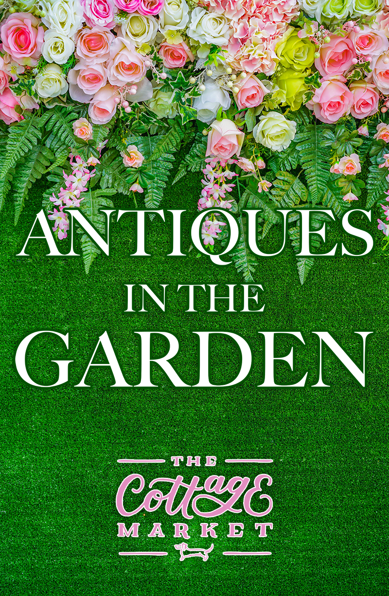 Here are tips for incorporating antiques in your garden.