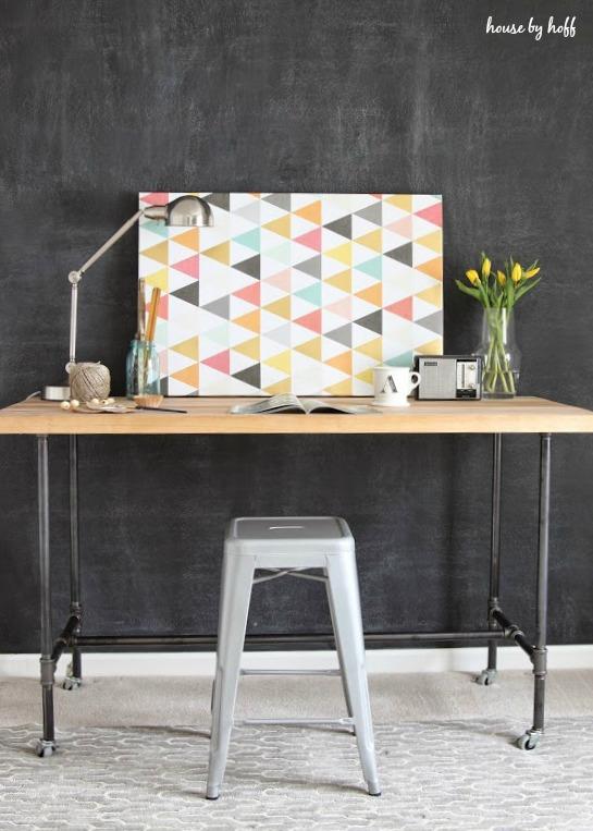 Fabulous And Functional Farmhouse Diy Desks The Cottage Market