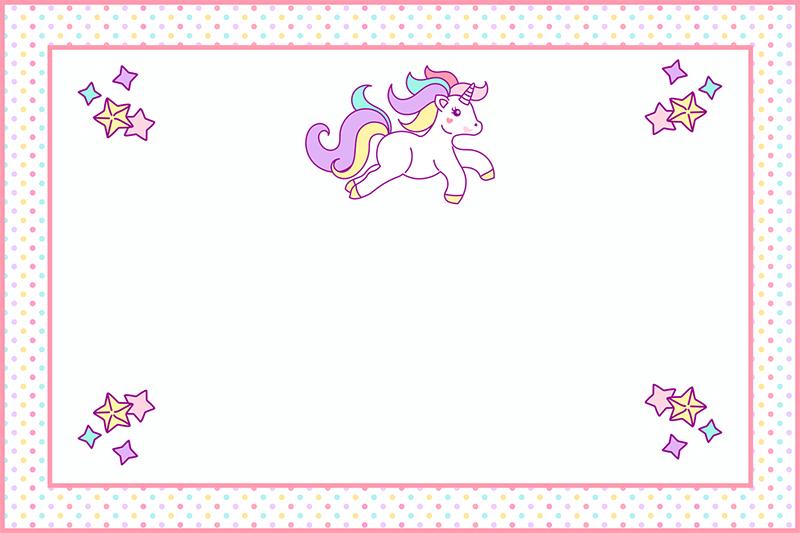 Free Printable Unicorn Party Decorations Pack - The Cottage Market