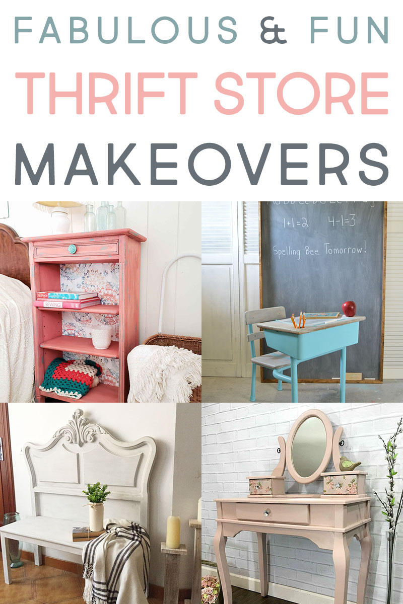 Check out these fun farmhouse thrift store makeovers for new ideas.