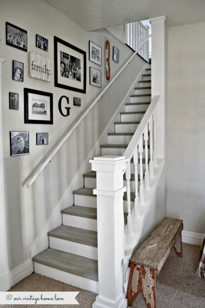 Fabulous Farmhouse Stairway Makeovers And Inspirations The Cottage Market