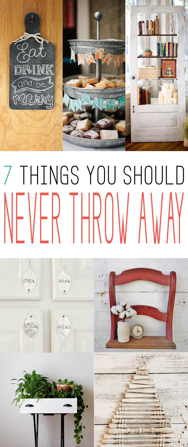 7 Things You Should Never Throw Away -- Thrifted Finds