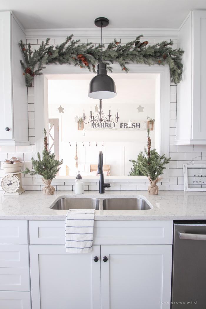Farmhouse Christmas Kitchen Decorating Ideas The Cottage Market