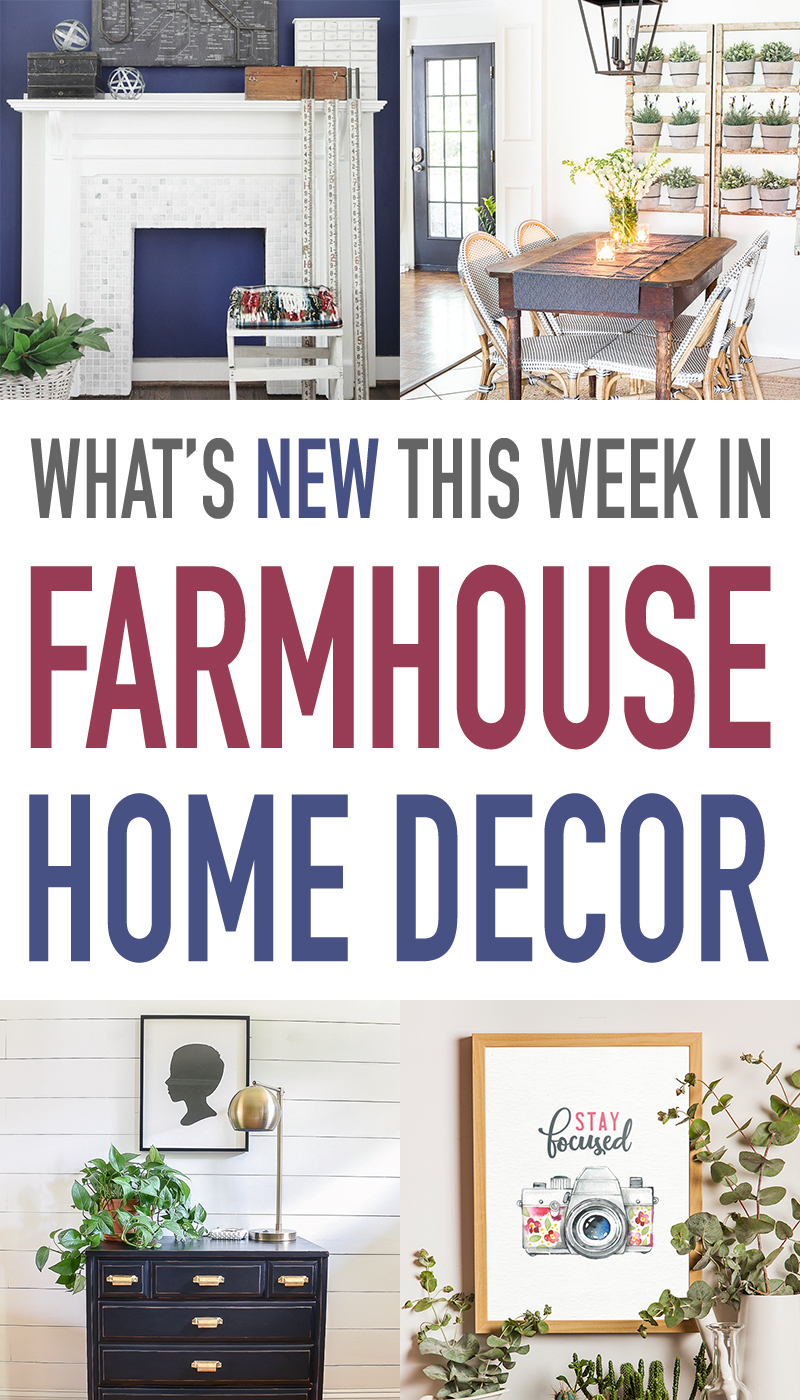 A Collection of Farmhouse Home Decor from The Cottage Market