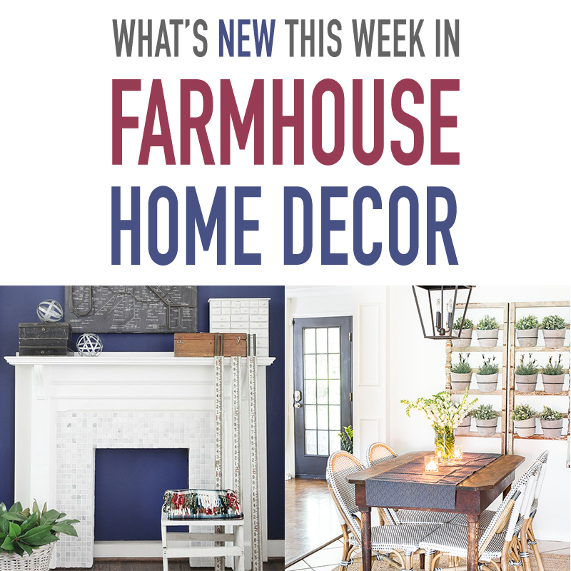What's new this week in farmhouse home decor? Another farmhouse collection from The Cottage Market