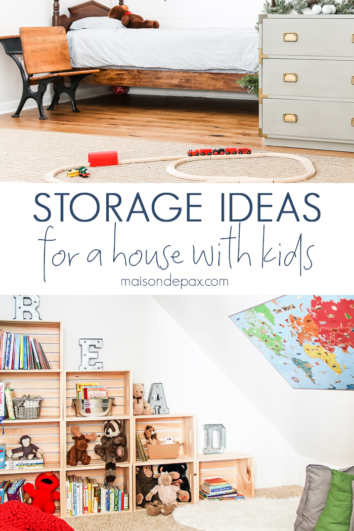 Parents are always looking for storage solutions for kids' stuff - these hacks are it!
