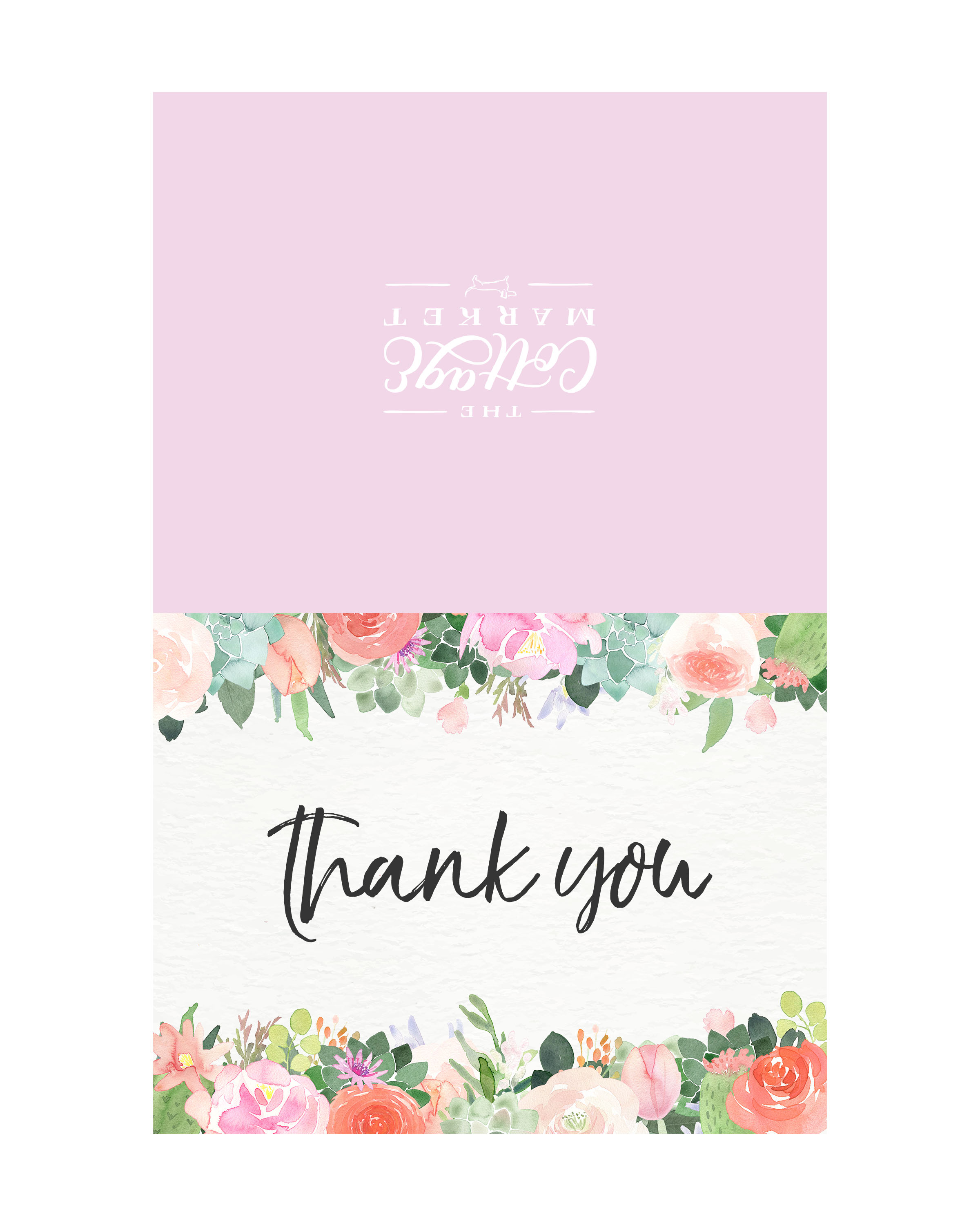 10 Free Printable Thank You Cards You Can T Miss The Cottage Market