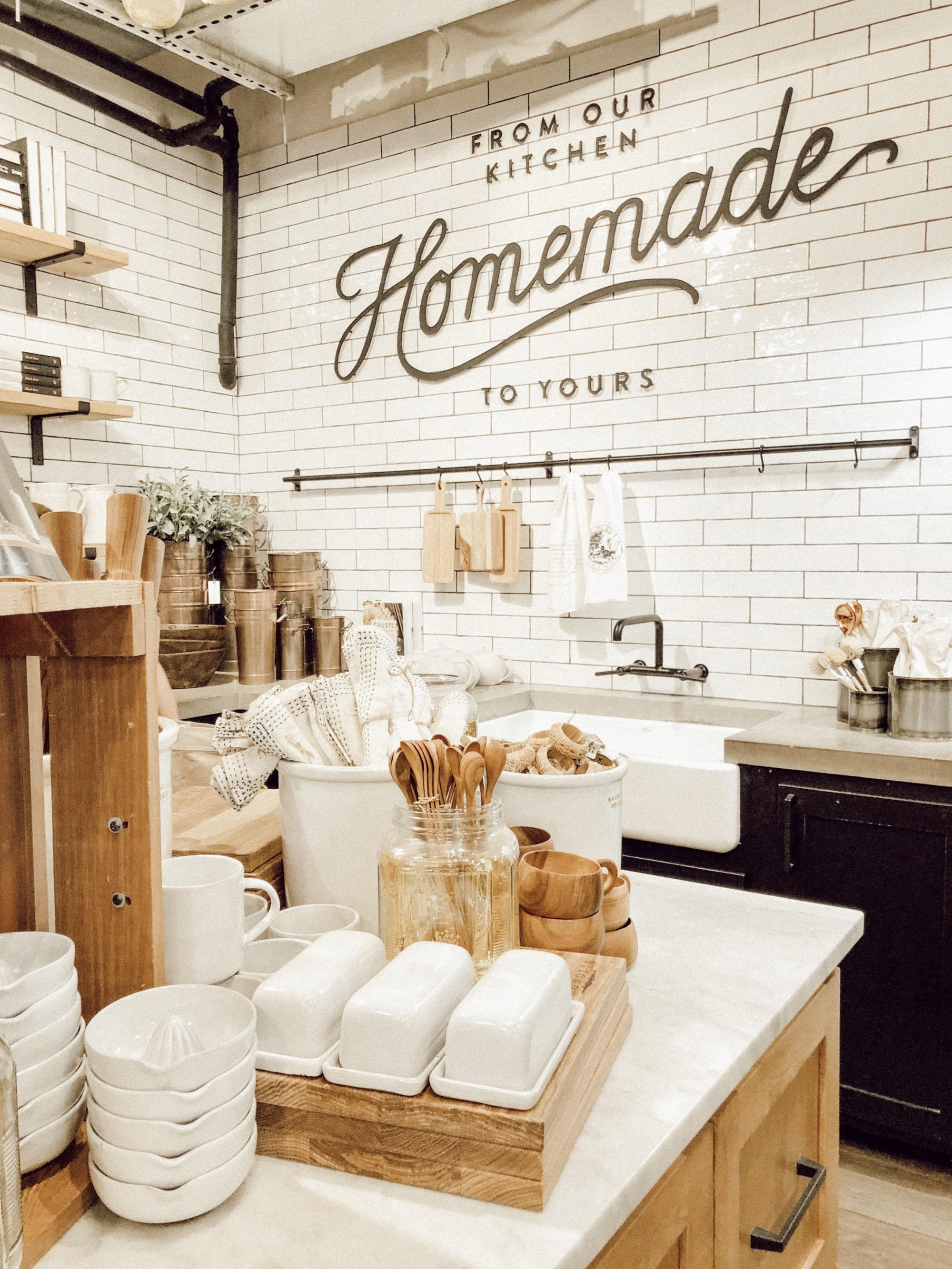 The Magnolia kitchen is a farmhouse style dream!