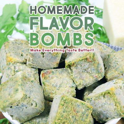 Homemade Flavor Bombs Make Everything Taste Better!
