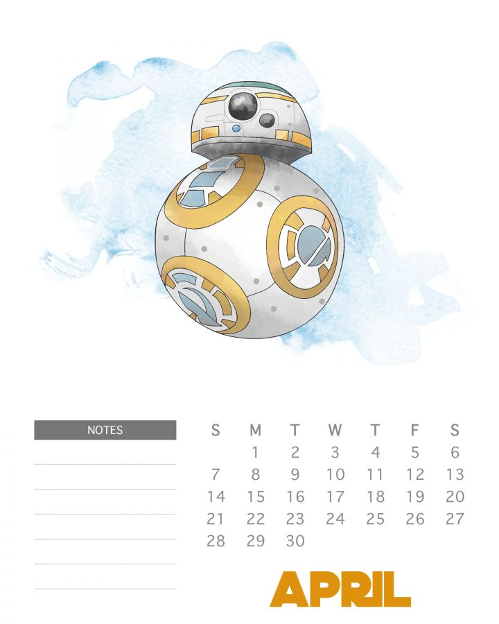 Come on in and snatch up your Free Printable 2019 Star Wars Calendar. It's filled with all your favorite characters from Hans to Luke! ENJOY!