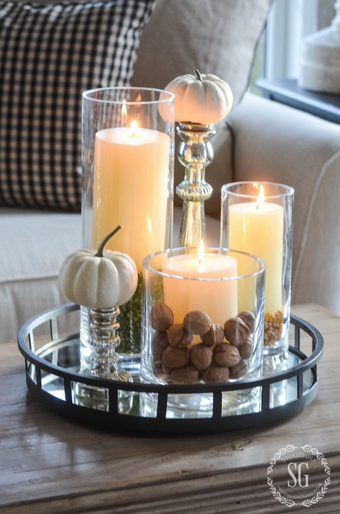 Are you short on time but want to get some decorating done for the Fall? Well then...check out our Fabulous 10 Minute Fall Farmhouse Decorating Ideas & DIYS