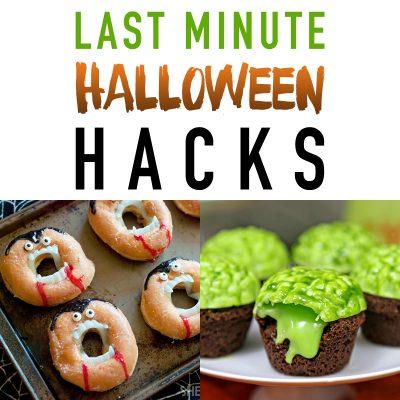 Last Minute Halloween Hacks that Work!