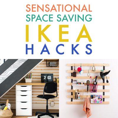 Sensational Space Saving IKEA Hacks