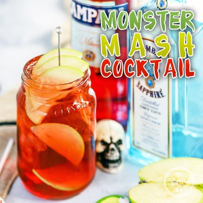Monster Mash Cocktail a Graveyard Smash!