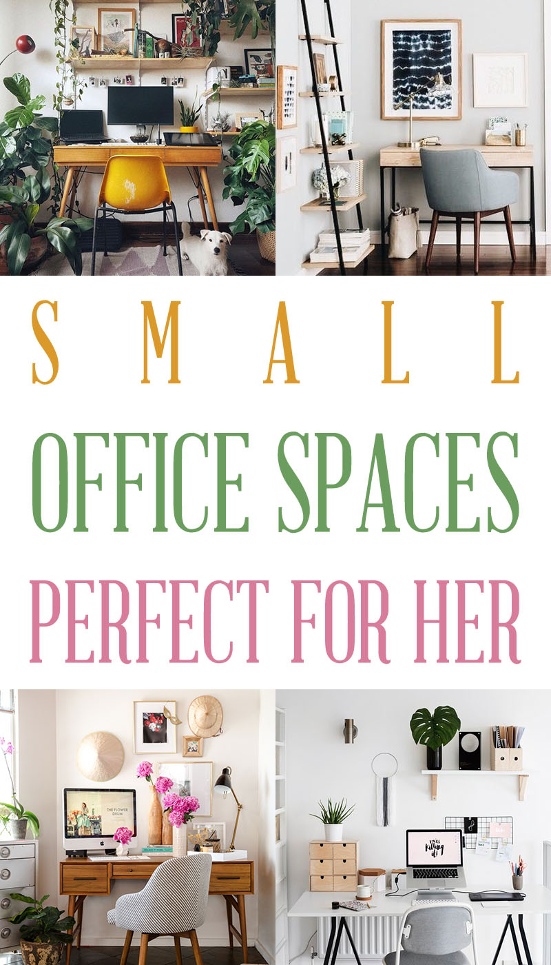 If you are short on room but want an office or studio space of your very own... come and check out these Small Office Spaces Perfect For Her today! ENJOY!