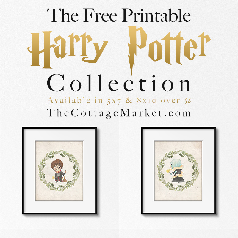 These Harry Potter Collection printables make perfect wall decor.