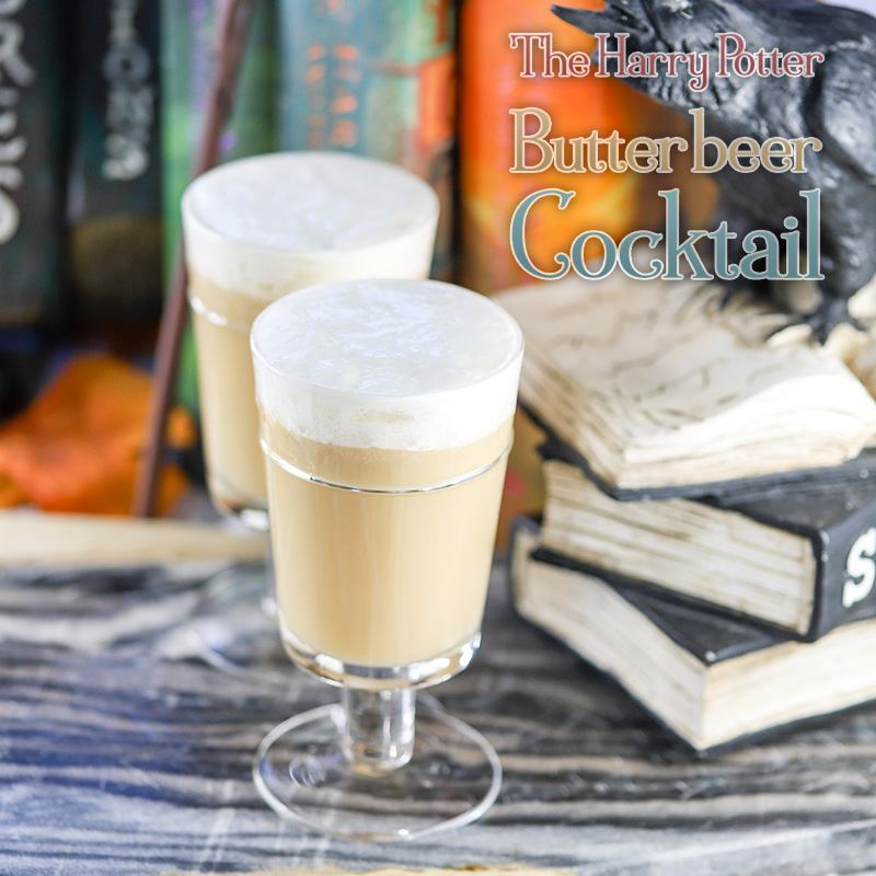 The Harry Potter Butterbeer Cocktail