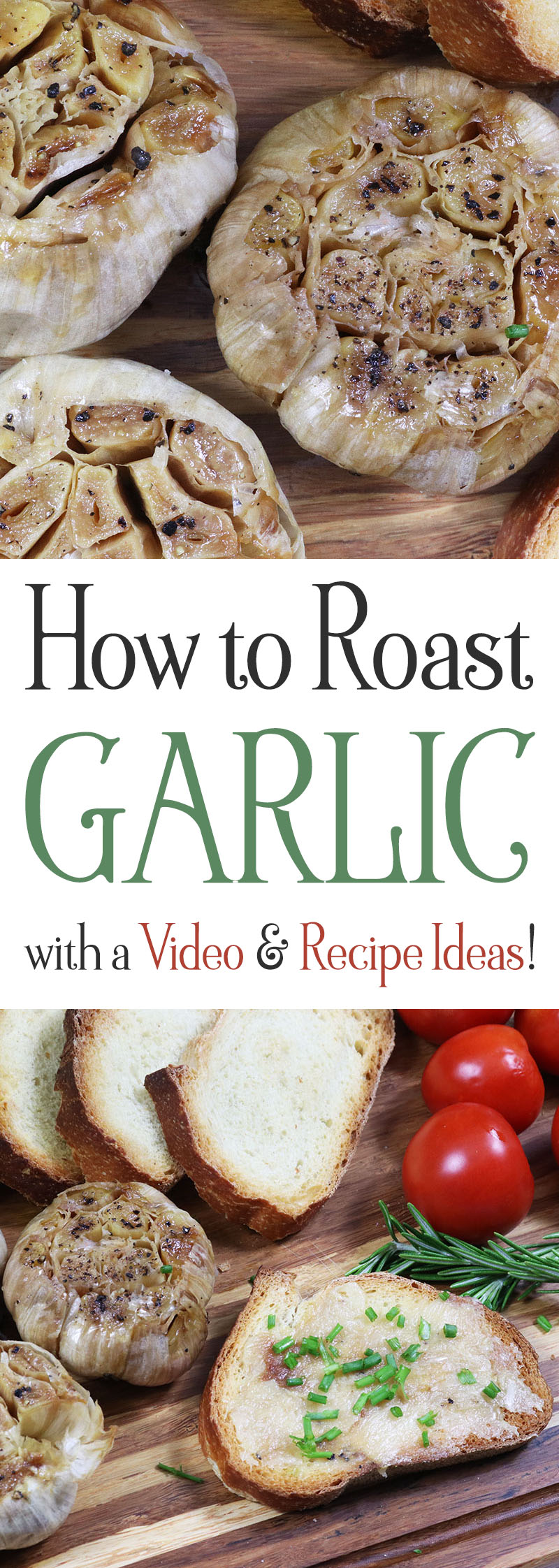 Come on in and enjoy our little video on How to Roast Garlic ... you will enjoy the Recipe... the Video and when you make it... you will flip for the taste!