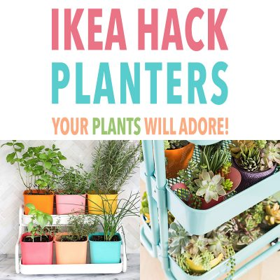 IKEA Hack Planters Your Plants Will Adore!