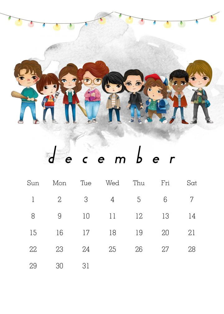 This Free Printable 2019 Stranger Things Calendar is ot off the presses and waiting for you to print it! Get organized with all your favorite characters!