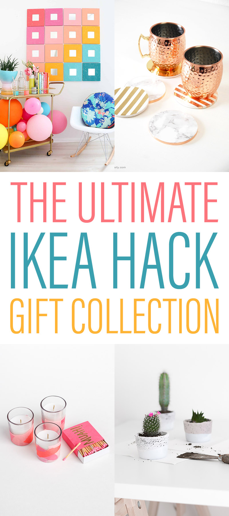 The Ultimate IKEA Hack Gift Collection is waiting for you! You will find a whole bunch of fabulous IKEA Hacks that make the perfect gift! Budget Friendsly!