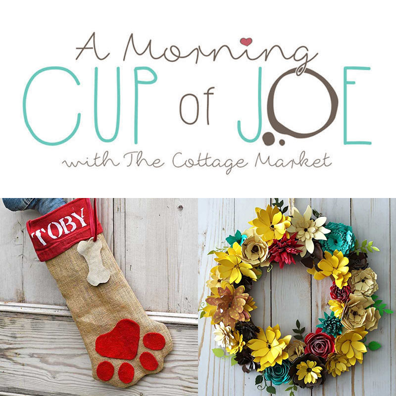 It's time for A Morning Cup Of Joe! Linky Party and Features Time! Come on in and show us all of your newest creations and then check out all the features!