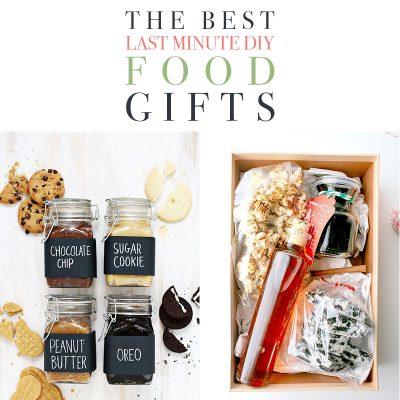 The Best Last Minute DIY Food Gifts!