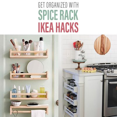 Get Organized with Spice Rack IKEA Hacks