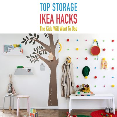 Toy Storage IKEA Hacks the Kids Will Want To Use