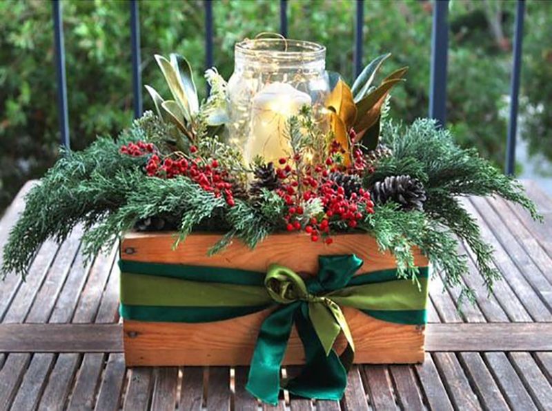 Quick and Easy Farmhouse CHristmas Decorating Ideas that will inspire you to create! They are all done in a snap so no real time is needed! Enjoy & Create!