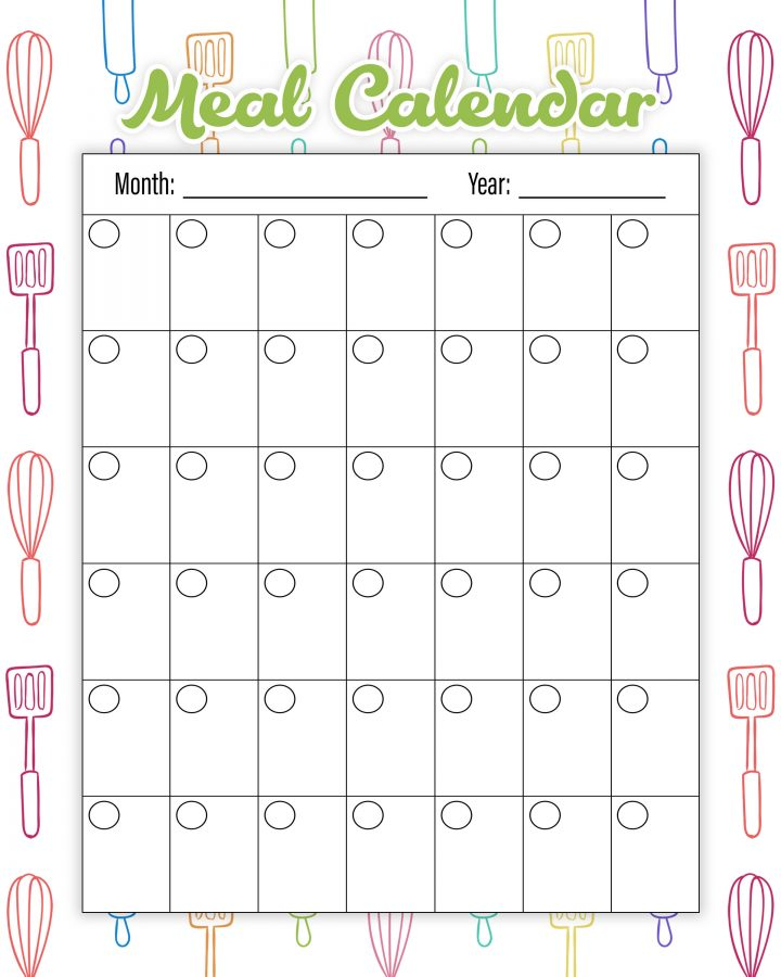 The Best Free Printable Kitchen Planner To Organize Your Year! Make 2019 the year that you get your Kitchen in tip top organizational shape! ENJOY!