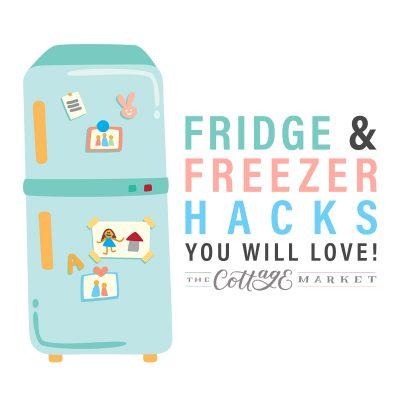 Fridge and Freezer Hacks You'll Love