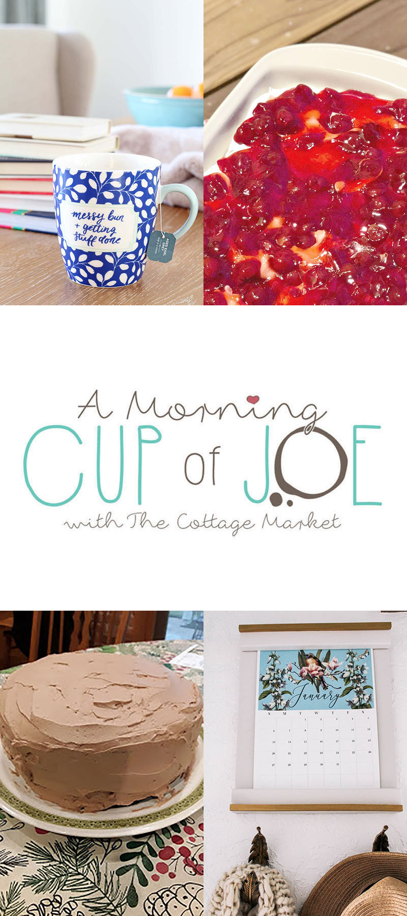 A Morning Cup of Joe Linky Party with Features is the place to fine all new features and a place for you to share your new creations! Hope to see you there!