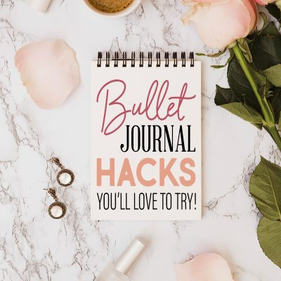 Bullet Journal Hacks You'll Love to Try! /// With Free Printables!