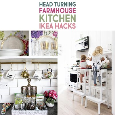 Head Turning Farmhouse Kitchen IKEA Hacks