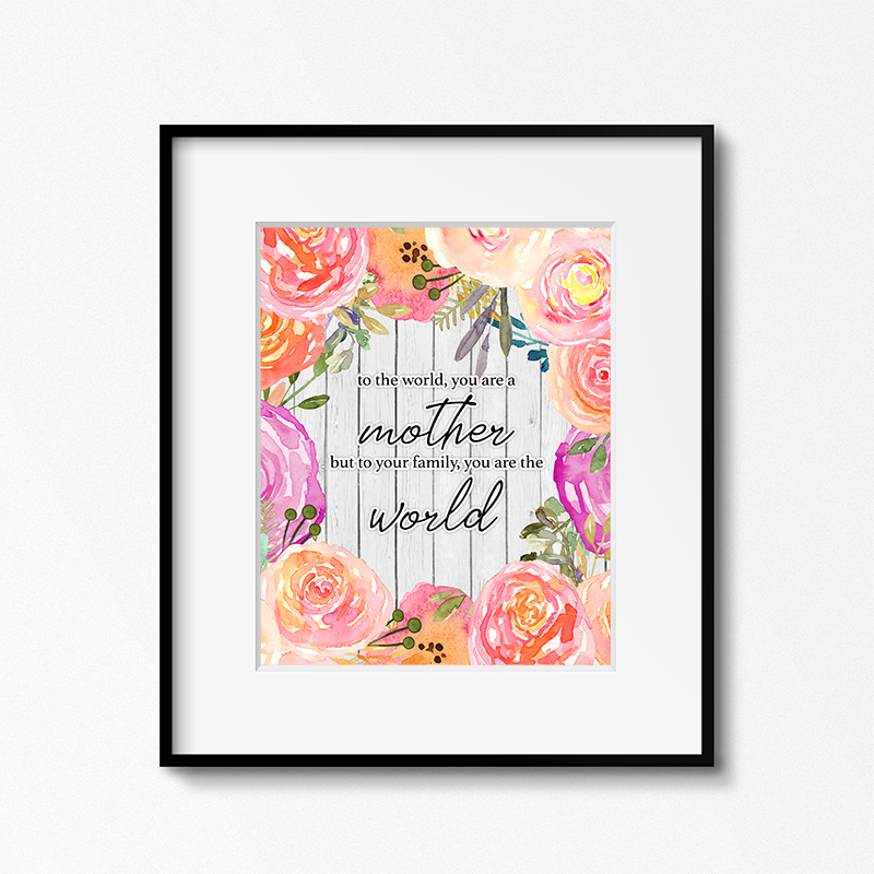 It is an image of Free Printable Quotes to Frame in a4 printable quote