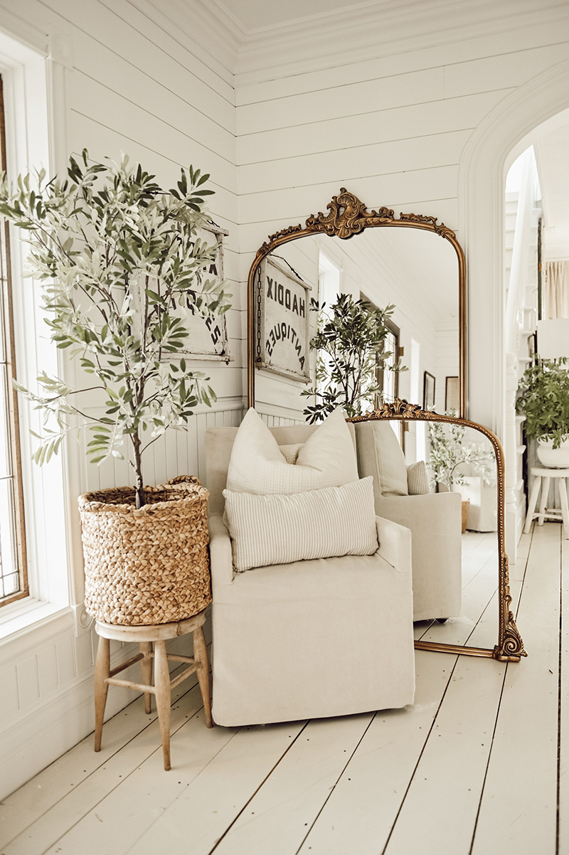 Decorating With Mirrors Farmhouse Style The Cottage Market