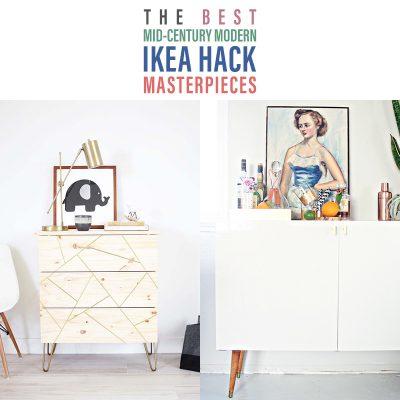 The Best Mid Century Modern IKEA Hack Masterpieces