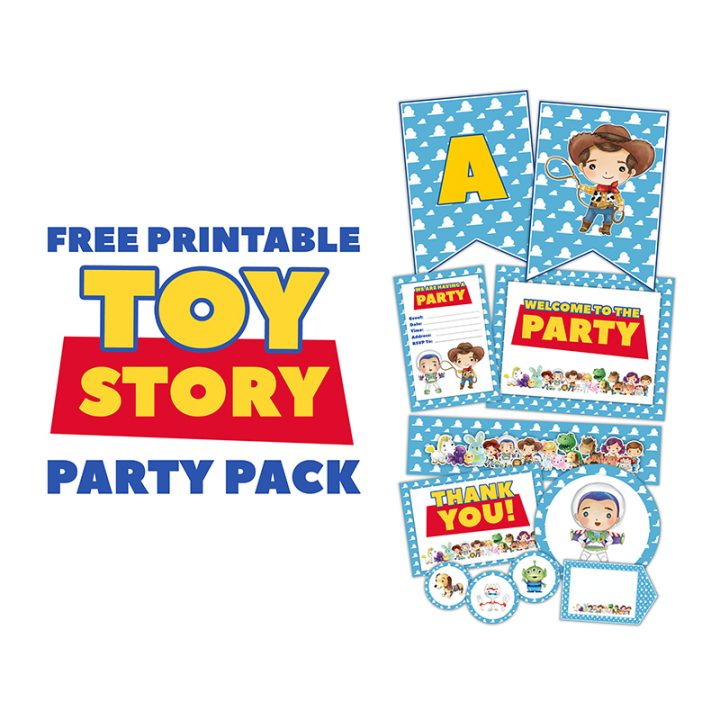 Free Printable Toy Story Party Pack The Cottage Market