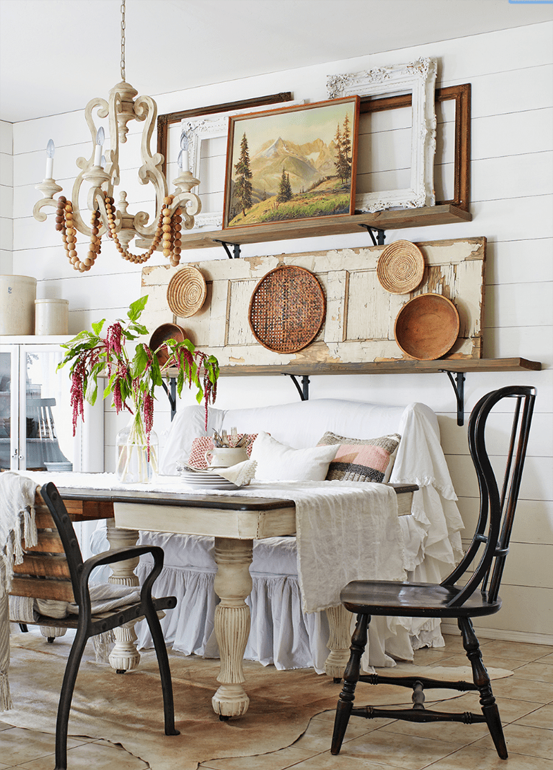 Imaginative And Creative Decorating With Flea Market Finds The