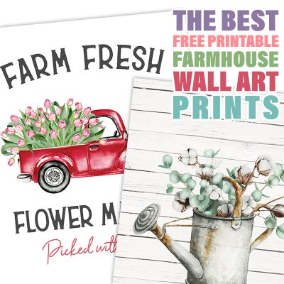 The Best Free Printable Farmhouse Wall Art Prints