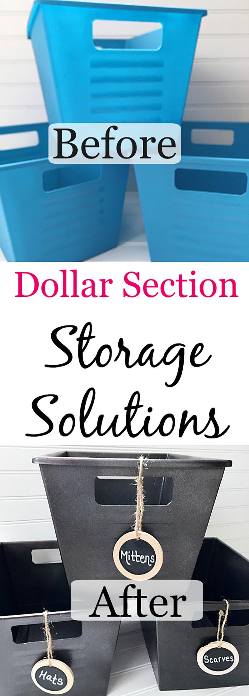 Organizing With Dollar Store Hacks That Work The Cottage Market
