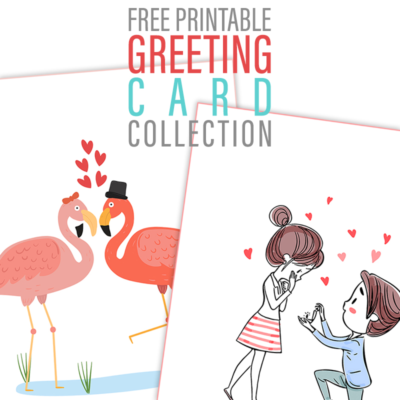 Free Printable Greeting Card Collection The Cottage Market