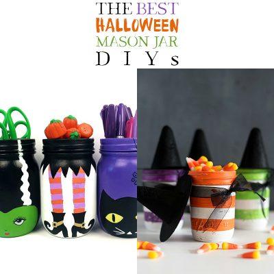 The Best Halloween Mason Jar DIYS!