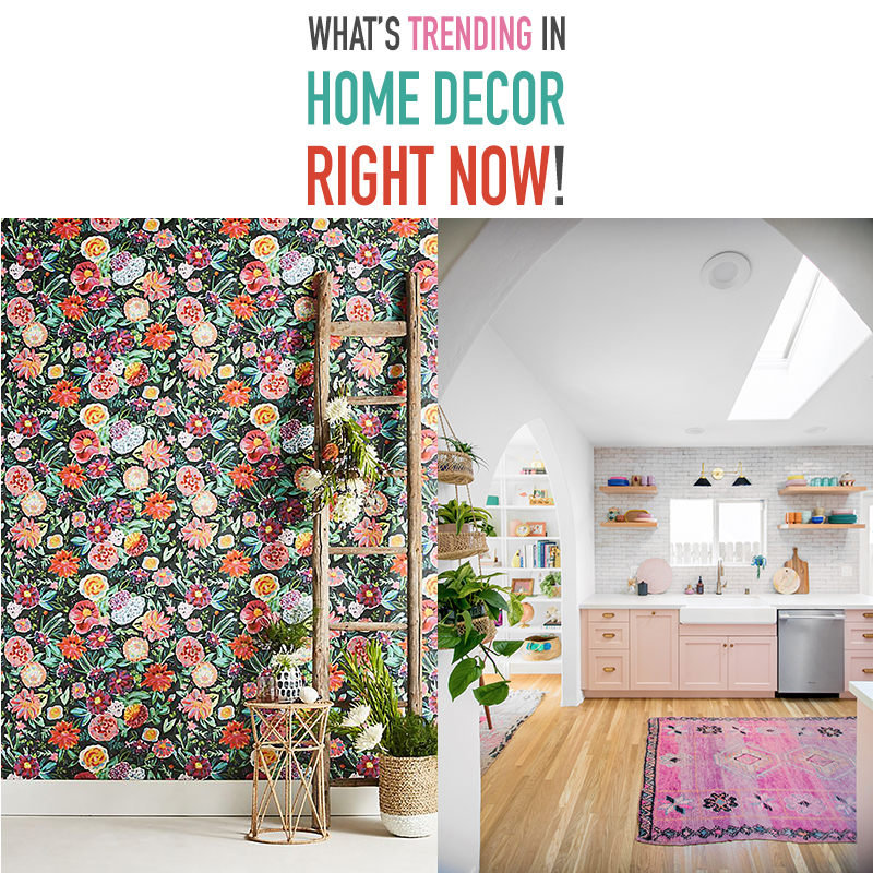 If you want to check out What's Trending In Home Decor Right now... come and take a peek at a few hot trends I think you will enjoy!