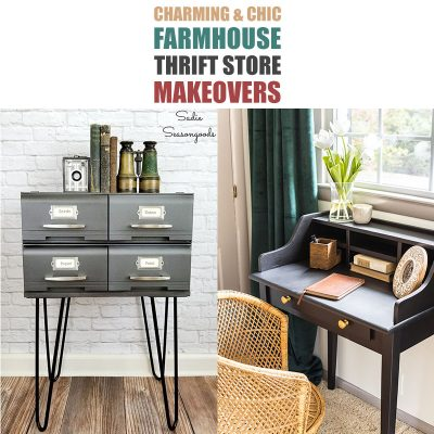Charming and Chic Farmhouse Thrift Store Makeovers
