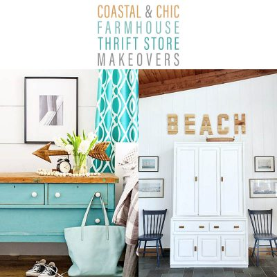 Coastal and Chic Farmhouse Thrift Store Makeovers