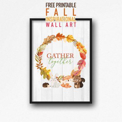 Free Printable Fall Inspirational Wall Art