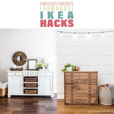 Fabulous Favorite Farmhouse IKEA Hacks